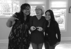 Letting loose post-Scriptorium reading with Jen Palmares Meadows and Simone Youngblood, Sacramento