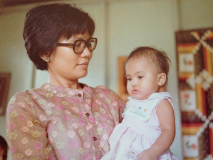Me and Ma, Philippines, 1978