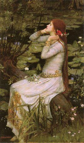 Waterhouse Ophelia, 1894