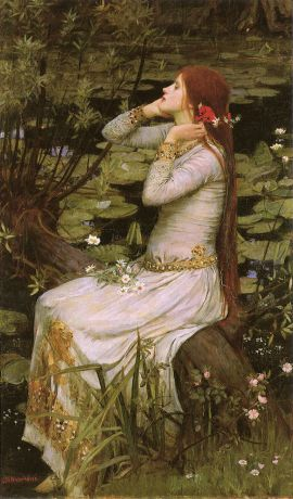 Waterhouse Ophelia, 1894
