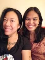 Spontaneous slumber party without the slumber with artist, albularya, and babaylan Lyn Pacificar, East Hollywood
