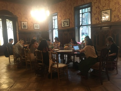 Prose and poetry (mixed genre) with Jenny Zhang, Tbilisi, Georgia