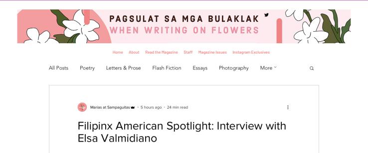 Marias at Sampaguitas Interview