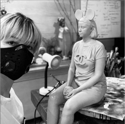 Ciane Xavier masked