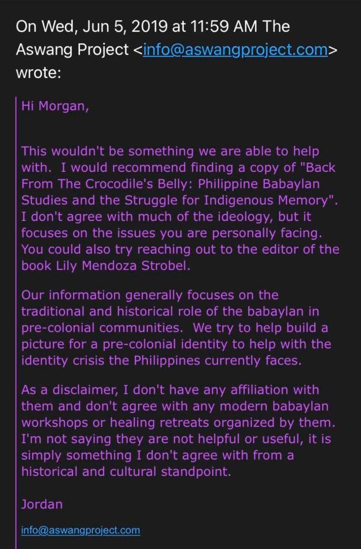 Morgan Hoffman email screenshot 3