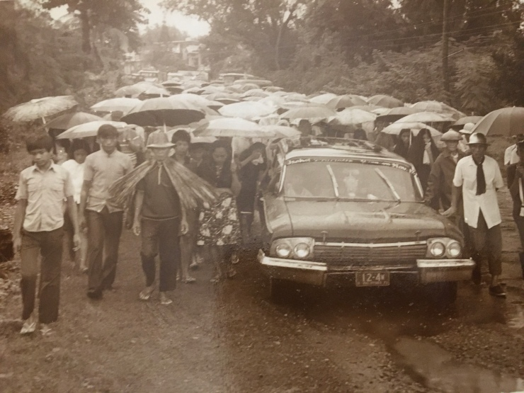Procession of a New Ancestor To His Final Resting Place, Bacnotan, La Union, circa 1968