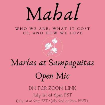 Marias at Sampaguitas Open Mic