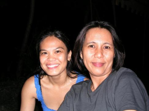With visual artist caren ang-oayp, Bacolod