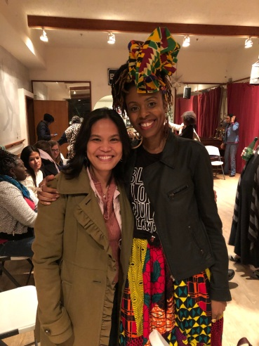 Supporting my Mills BFF Adrienne Oliver as the Featured Poet at the Ugly Beauty Poetry Salon, Berkeley, 2020