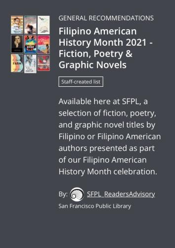 FAHM 2021 SFPL Reading List